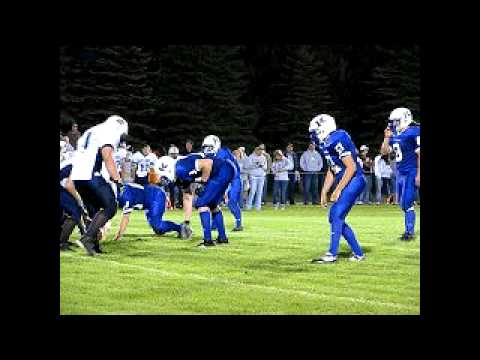 2009 Kindred High School FB vs Milnor NS