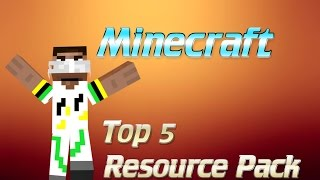 Minecraft 1.8 - Top 5 Resource Pack Thumbnail
