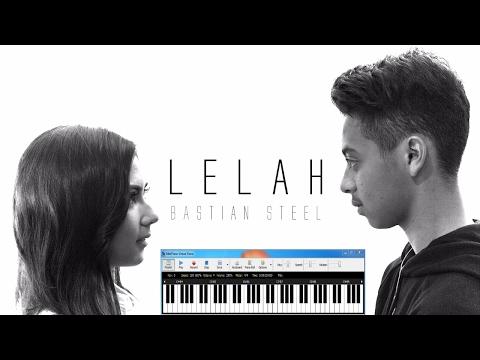 Bastian Steel - 💔  Lelah dengan LIRIK | dr Not Angka | Midi Piano Cover