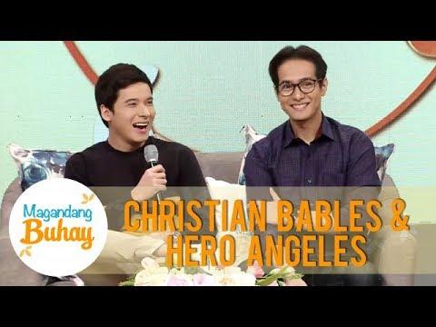 Hero Angeles says that he treats Christian Bables as a brother | Magandang Buhay
