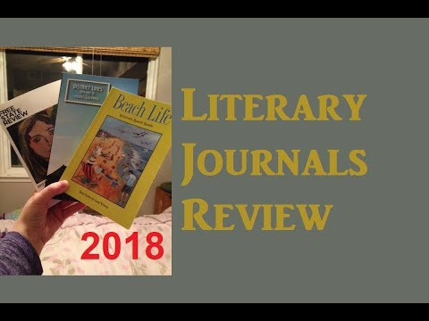 2018 Literary Journals Review