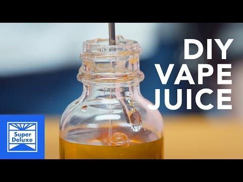D I Y  Coffee Vape Juice - YouTube