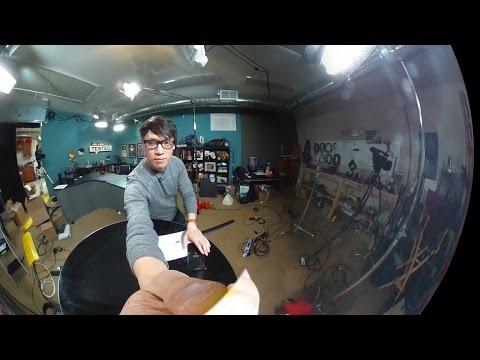 Show and Tell: Ricoh Theta 360 Degree Camera