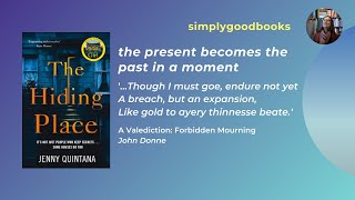 The Hiding Place by Jenny Quintana 'the present becomes the past in a moment'