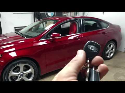 Ford fusion remote start