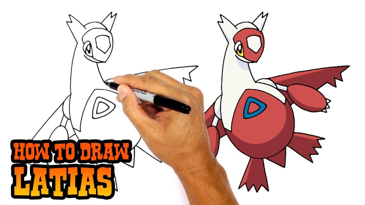 How to Draw Pokemon | Latias