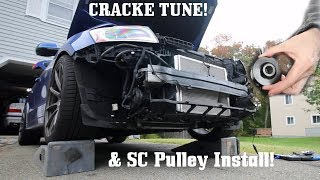 SQ5 IE CRACKLE TUNE & S/C Pulley Install
