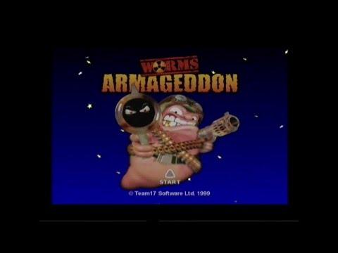 Dreamcast осмотр #33 - Новая сборка Worms Armageddon на русском 2016