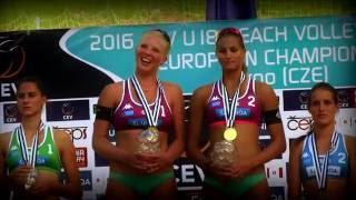 2016 CEV U18 Beach Volleyball European Championship Highlight Clip