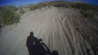 2009 Baja 1000 Motorcycle Crash - Go Pro Helmet  Camera James Hall 5x Solo