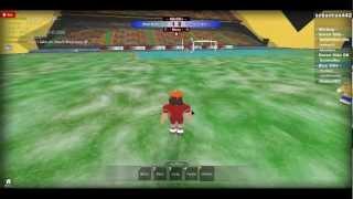 Roblox: Soccer Real Madrid VS Sparta Praha :D part:1
