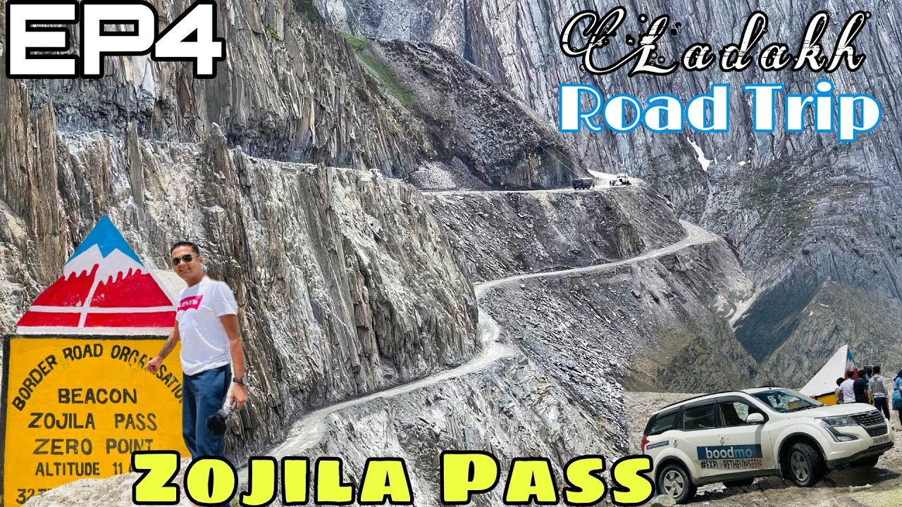 Download The Mighty Zojila Pass at 11500 Ft |  Ladakh Road Trip 2021