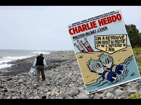 Charlie Hebdo MH370 Cover Sparks Outrage - Thoughts?