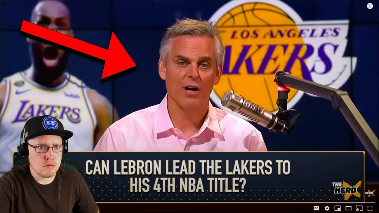 Reacting To Colin Cowherd The LA Lakers Won't Win The NBA Finals