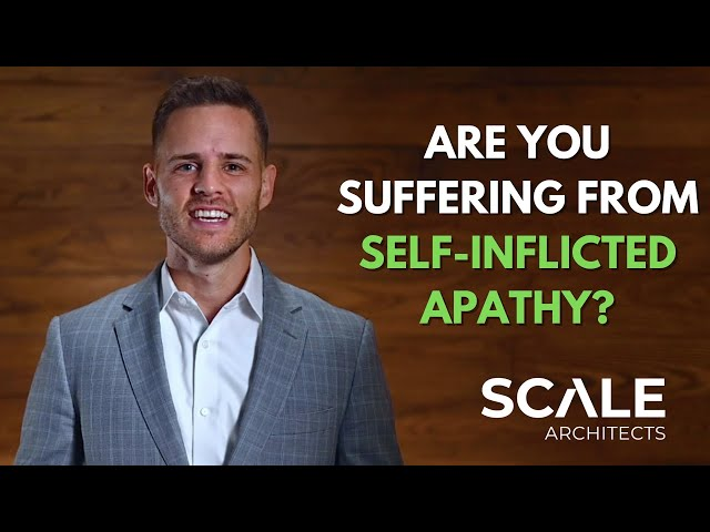 Are you suffering from self inflicted apathy