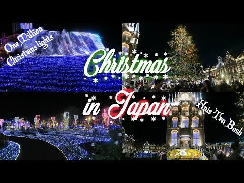 Christmas in Japan: 1 Million Christmas Lights