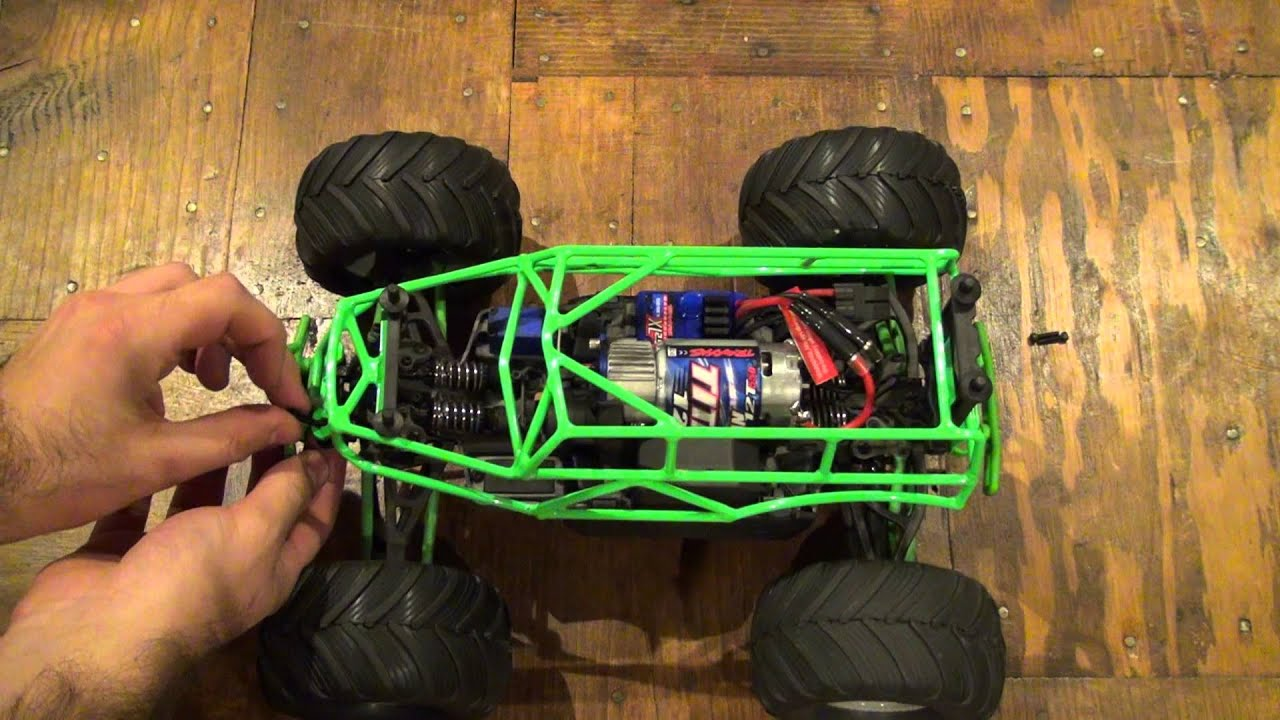 Vg Racing 1 16 Grave Digger Roll Cage Youtube