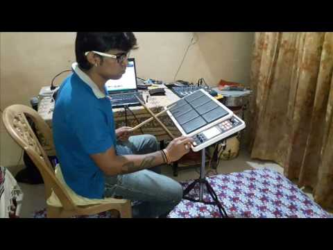 Chiz Badi Hai Mast Janny Dholi Drum Cover On Octapad