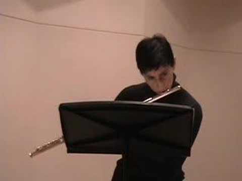 Nina Perlove, flute: Karg-Elert Caprice #19