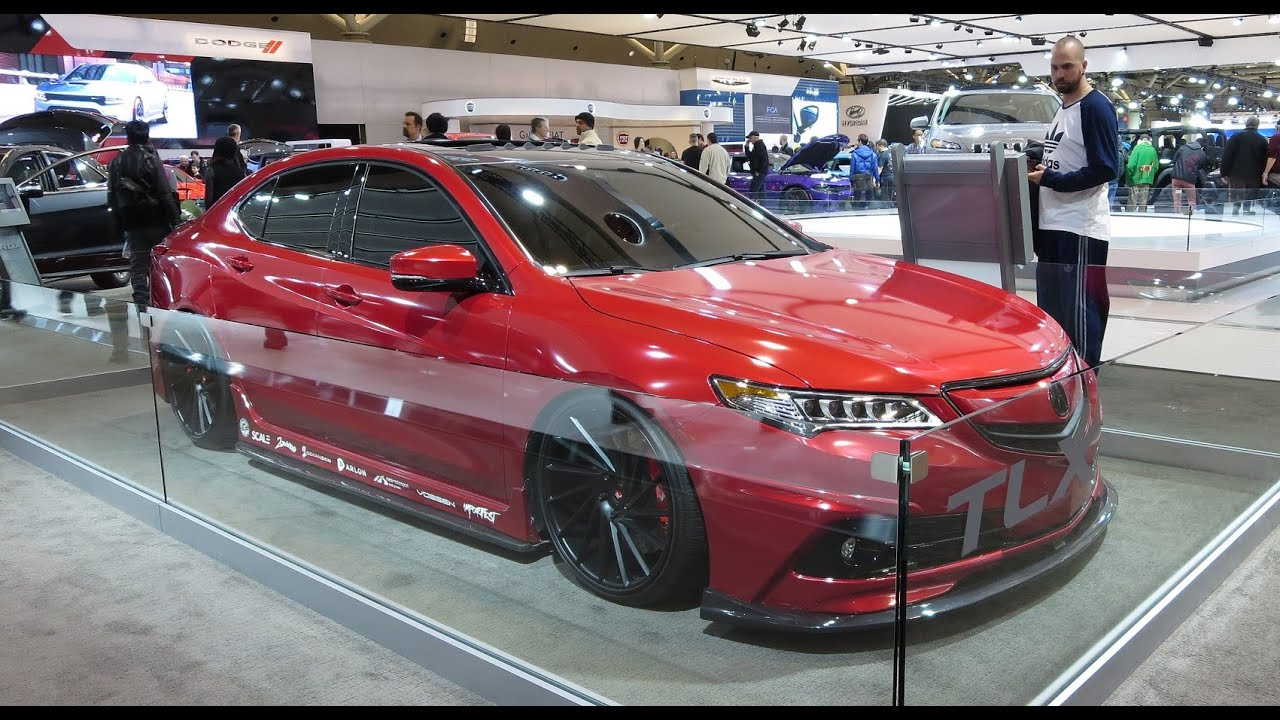 Heavily MODDED Acura TLX All NEW TL Replacement YouTube - Custom 2018 acura tl