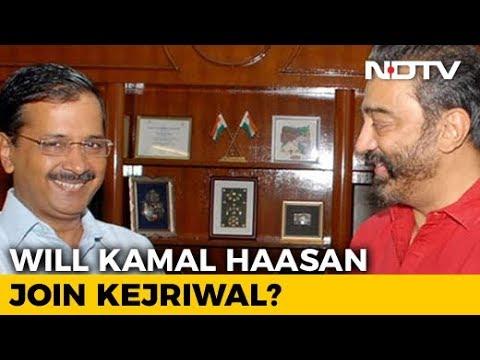 Arvind Kejriwal, Kamal Haasan To Meet For Lunch. Main Course Is Politics