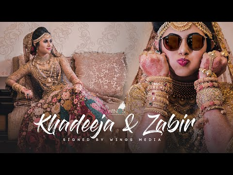 Kerala muslim wedding highlights | KHADEEJA + ZABIR | wings_media