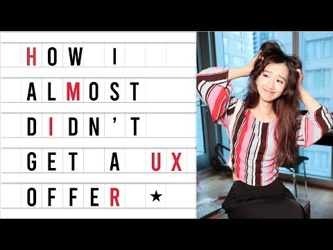 LESSONS I LEARNED IN GETTING A UX DESIGN JOB | USER EXPERIENCE DESIGNER PORTFOLIO & INTERVIEW TIPS