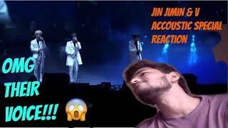 BTS (방탄소년단) - JIN, JIMIN & V ACOUSTIC SPECIAL (REACTION)