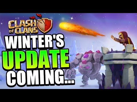 COC Winter Update Maintenance Brake Live -Clash Of Clans 2018