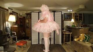 Sissy Blog 592 Poof Pink and prissy