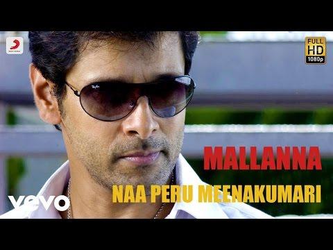 Mallanna - Naa Peru Meenakumari Video | Vikram, Shreya | Devi Sri Prasad