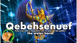 summoners war qubby qebehsenuef the water horus dragons b10 spotlight