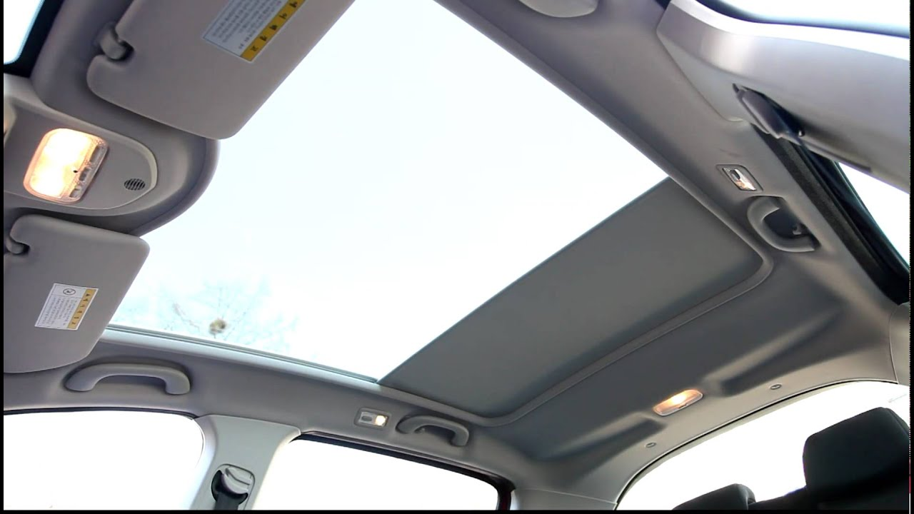 Peugeot  Panoramic Glass Roof