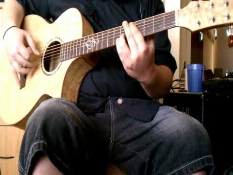 System of a Down - Roulette guitar cover - by ( Kenny Giron ) kG