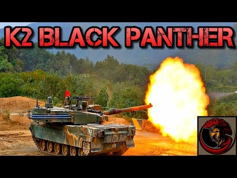 K2 Black Panther - South Korean Main Battle Tank Overview