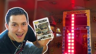 All the minor prizes at STACKER and a Major Prize WIN! - Arcade Prize Game