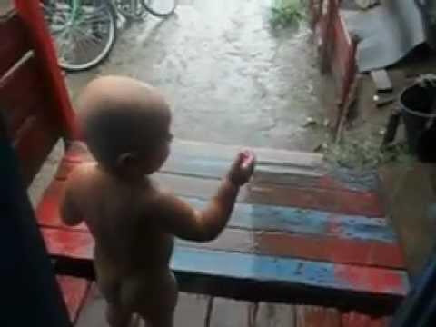 разговор с дождиком