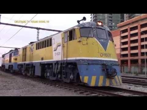 Tren SANTIAGO - YUMBEL - CONCEPCION salida 19 de ENERO 2018 y 21 de ENERO DEL 2018