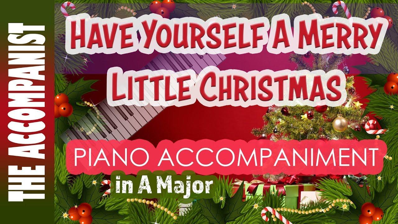 Have Yourself A Merry Little Christmas Karaoke Martina Mcbride