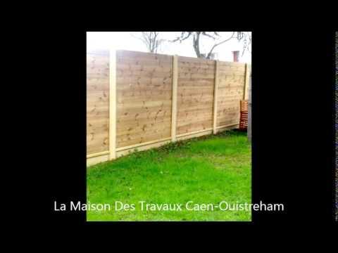 cration clture en bois de pin amnagement jardin youtube - Cloture De Jardin En Bois