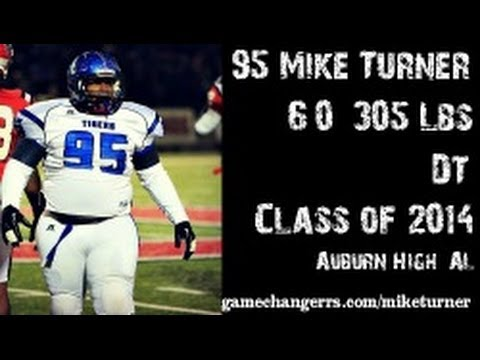 #95 Mike Turner / DT / Auburn High (AL) Class of 2014