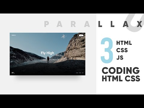 3 - Project Design & Feel Intro - Parallax Coding HTML CSS JS GSAP