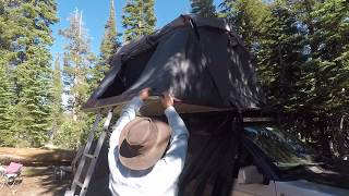 Overland Pros Anza 2000 roof top tent set-up and unique features. W...