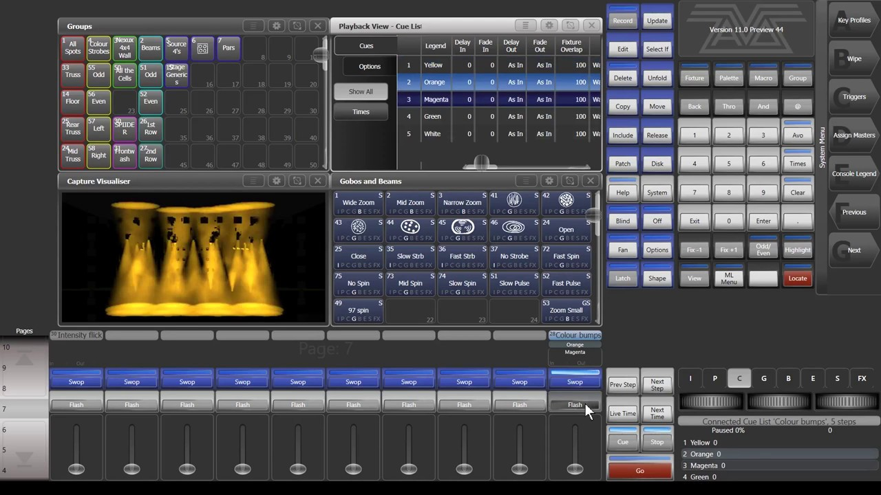 Titan is the live, fast & powerful lighting control interface