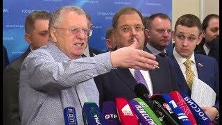 """Жириновский - """"Чернуха день и ночь! Децл Умер, умер,умер... Похороны и пожары!"""" 05.02.2019"""