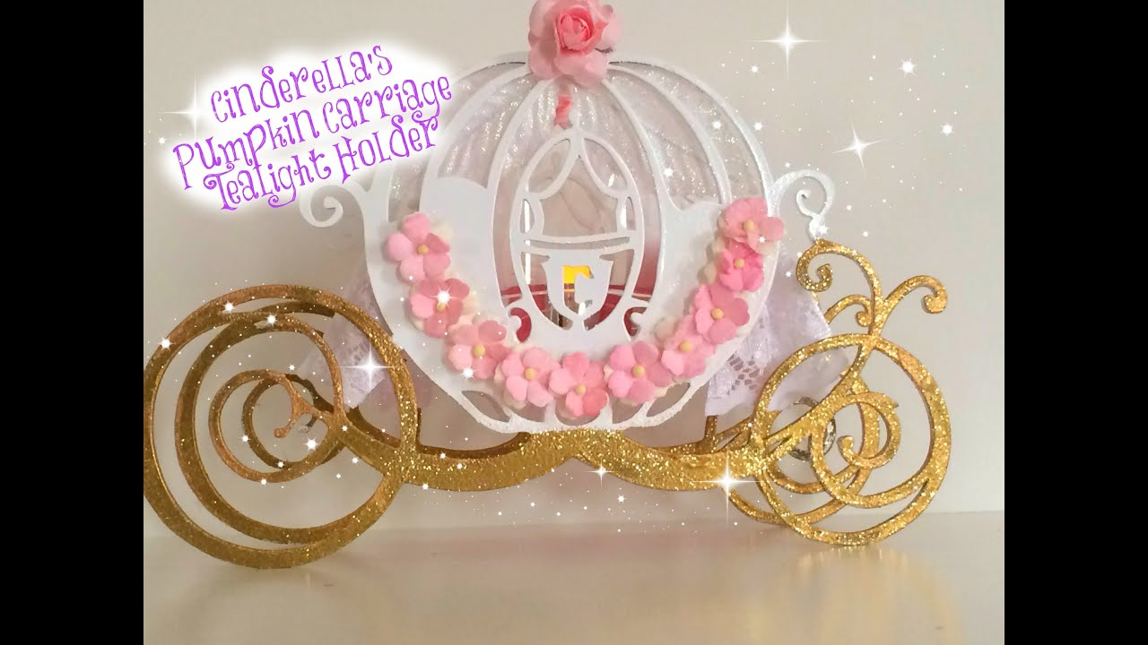 Cinderella\'s Pumpkin Carriage Tea Light Holder ~ Timelapse Process ...