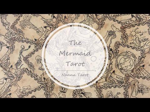 開箱  美人魚塔羅牌 • The Mermaid Tarot  // Nanna Tarot
