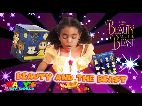 Disney Beauty and the Beast Enchanted Rose Jewellry Box & Mystery Minis | Zary's ToyWorld