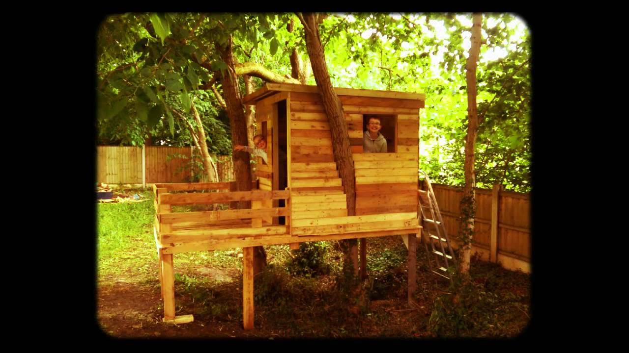 From Pallet to Treehouse - YouTube