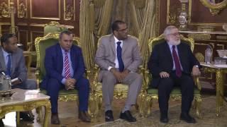 اللجنة الوطنية المعنية بليبيا تلتقي وفد المجلس الأعلى للدولة .. فيديو